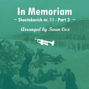 In Memoriam van shostakovich voor harmonie