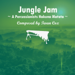 Jungle Jam - Twan Cox | Melodisch Percussie Ensemble Bladmuziek