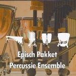 Episch Epic percussie ensemble Percussion Ensemble pakket Bladmuziek Sheet music
