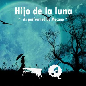 Hijo de la luna percussion ensemble sheet music