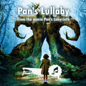 Pan's labyrinth lullaby percussie ensemble koor bladmuziek