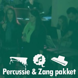 Percussie en zang pakket
